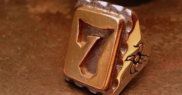 Brass & Silver メキシカンリング